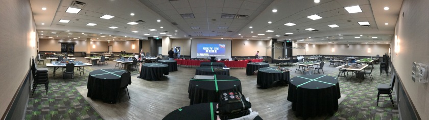 Plains of War GT Venue Pano